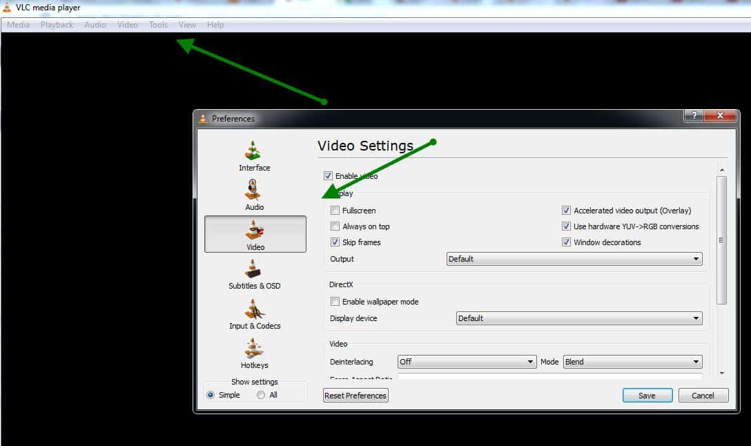 VLC Setting How to Set Video as Desktop BackGround using VLC media Player?