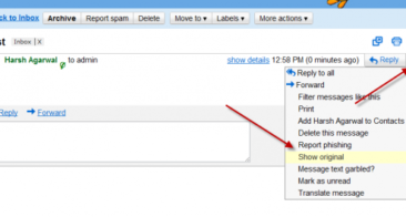 How to Trace Email Sender I.P in Gmail
