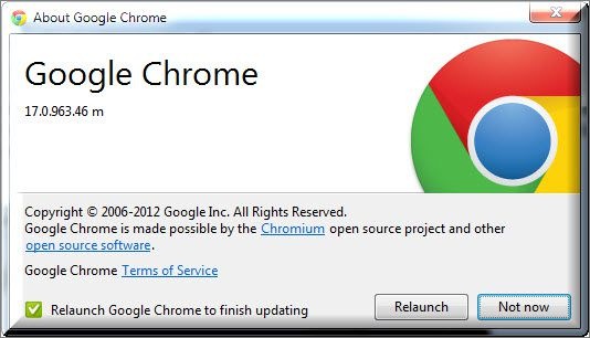 eseguibile google chrome