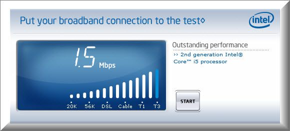 Intel Broadband 10 BEST way to Check Internet Speed