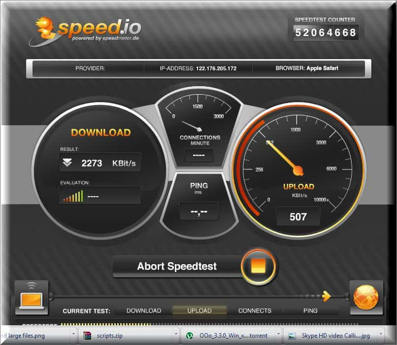 Speed.io  10 BEST way to Check Internet Speed