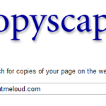 CopyScape Plagiarism Detection Software Checks Content Originality
