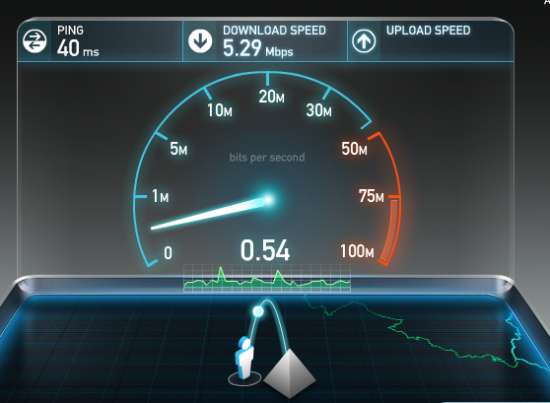 internet speed test speedtest 550x403 10 BEST way to Check Internet Speed