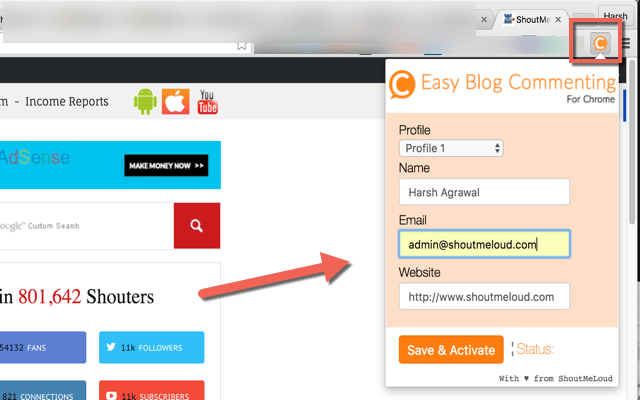 Easy Blog commenting addon