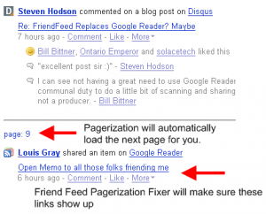 friendfeed pagerization2 300x242 Greasemonkey script for friendfeed
