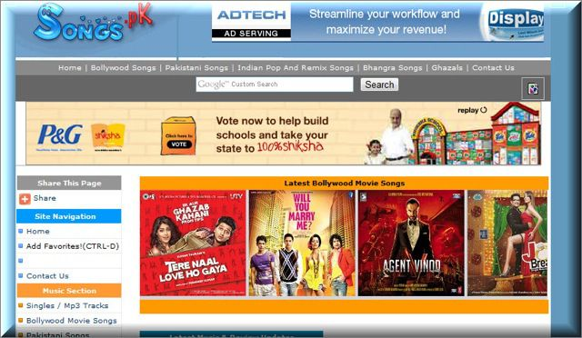 Songs.pk  Songs.Pk : Pakistani Site to Download Hindi Songs Blocked