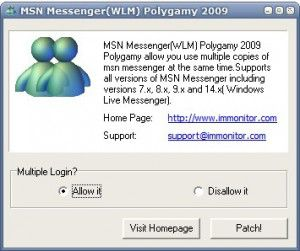 Multiple MSN Messenger