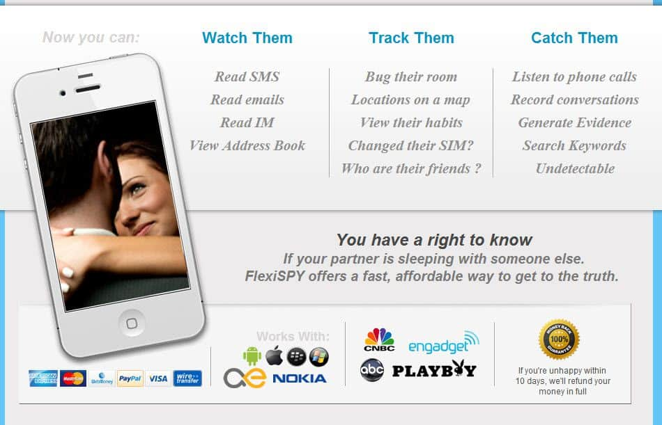 Flexispy : Cellphone Spy Software