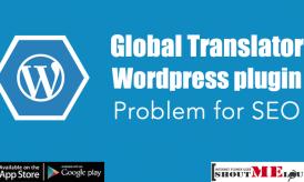 Global translator WordPress plugin problem for SEO