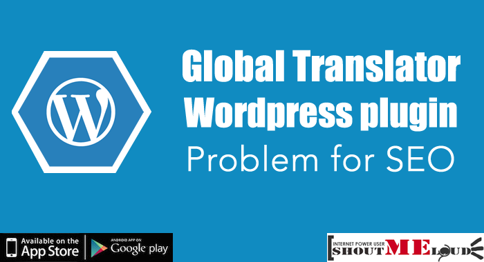 Global Translator Plugin SEO Problem