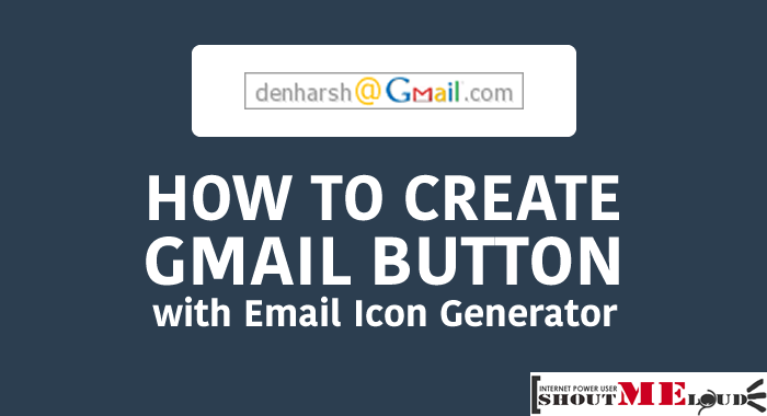 Gmail Email Icon Generator