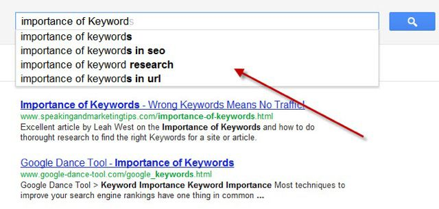 Importance of Keywords Importance of Keyword in SEO : Beginners Guide
