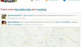Nearbytweets : Find Twitter users Tweeting Across the Street