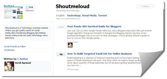 NetworkedBlogs Application : Blog Directory on Facebook