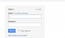 Login/Link your Youtube Account with Gmail account