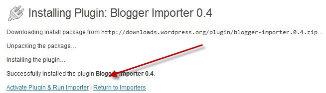 Activate Blogger Importer How to Import Blogger to WordPress : Quick and Easy Way