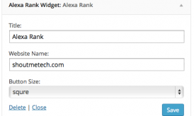How to Create Alexa Rank Widget for your Blog