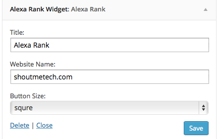 How to Create Alexa Rank Widget for your Blog