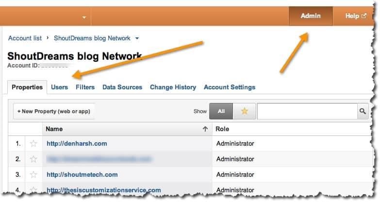 Analytics access to new user