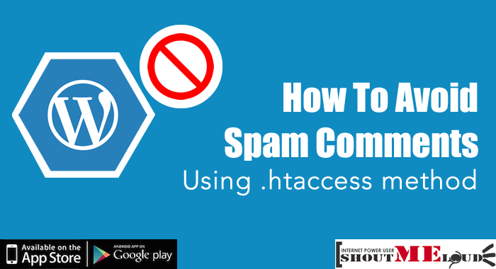 Avoid Spam Comments