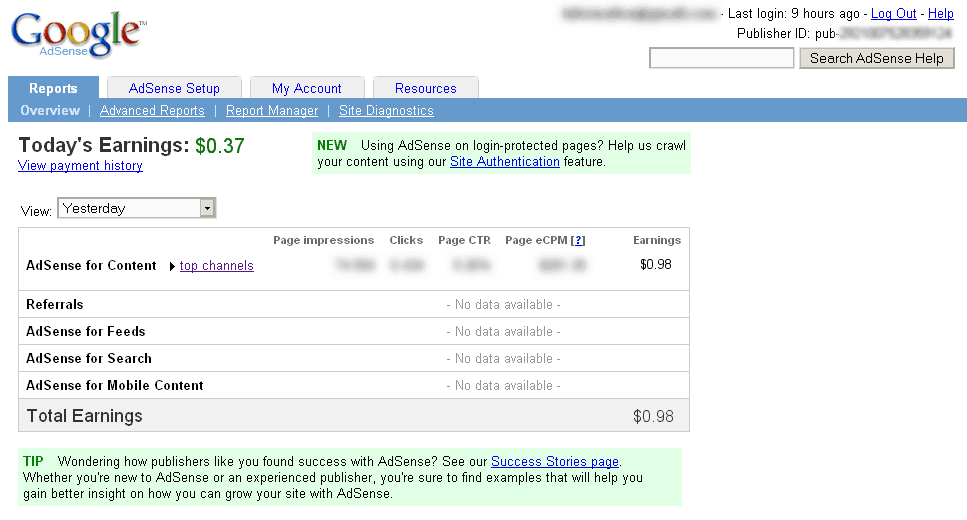 Fake Google Adsense generator How I Earned $345 with Google adsense in a day