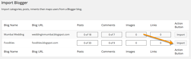 Import BlogSpot to WordPress