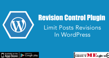 Revision Control Plugin : Limit Posts Revisions in WordPress