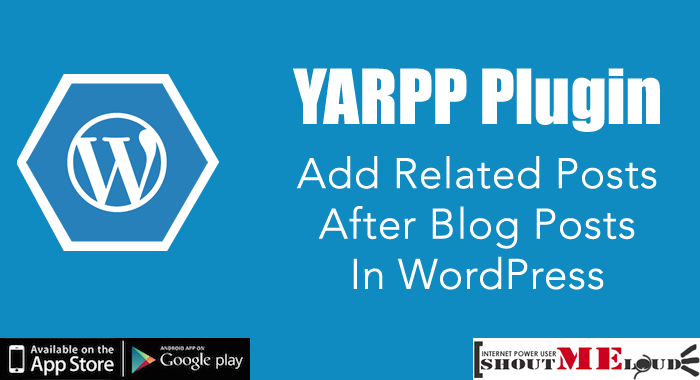 YARPP Plugin – Add Related Posts After Blog Posts in WordPress