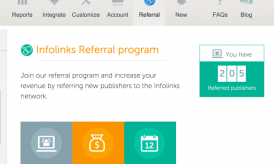 Infolinks Affiliate Program –  Details and Signup link
