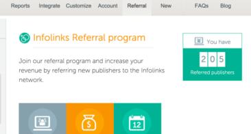 Infolinks Affiliate Program –  Details and Signup link