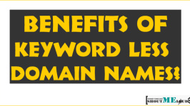 Benefits of Keyword Less Domain Names?