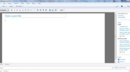 Windows Live Writer: Blogging tool for blogger