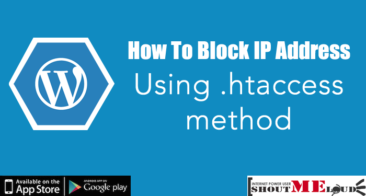 How To Block IP Address Using .htaccess method