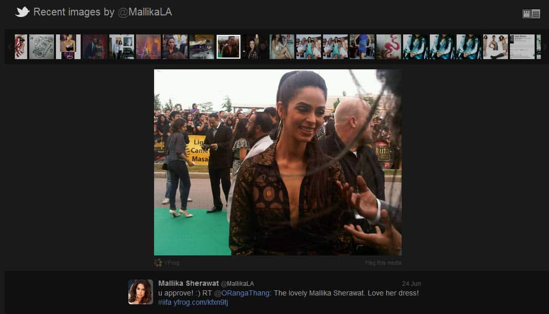 Mallika Sherawat Twitter Profile Lets Follow BollyWood Twitter Users : List