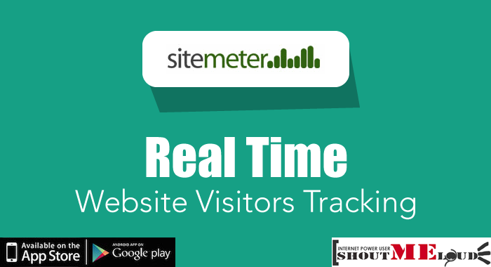 SiteMeter Real Time Tracking