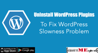 UnInstall WordPress Plugins to Fix WordPress Slowness Problem
