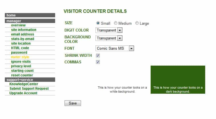 VISITOR COUNTER DETAILS SiteMeter : Real Time Website Visitors Tracking