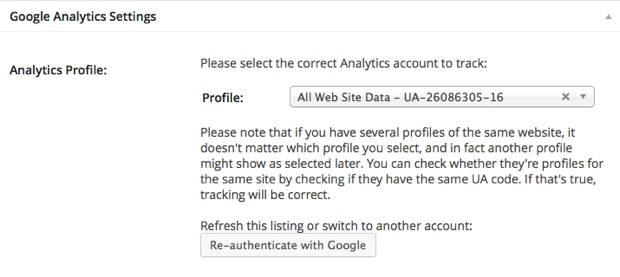 Google analytic account