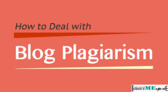 How to Deal with Blog Plagiarism
