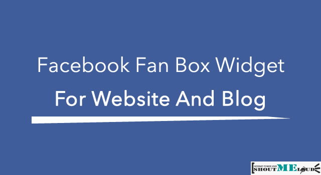 Facebook Fan Box Widget