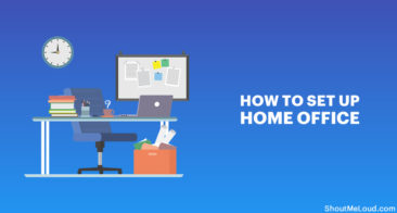 How To Set Up Home Office For Productive work (Practical Tips)