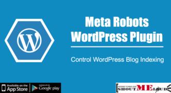 Meta Robots WordPress Plugin: Control WordPress Blog Indexing