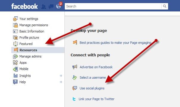 Use Social Plugins