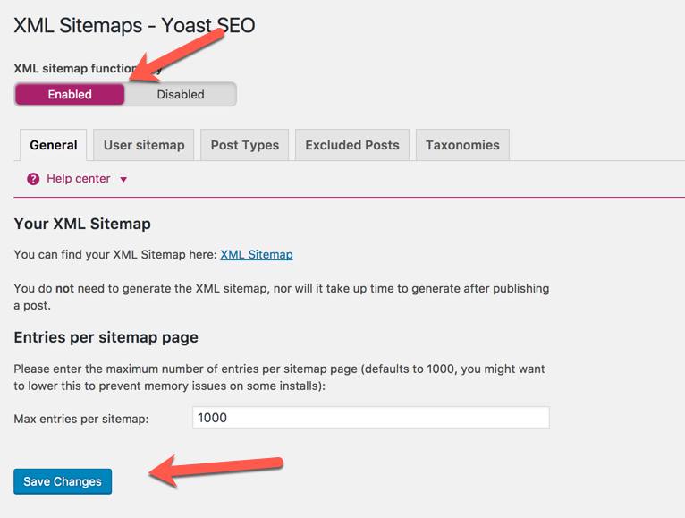 to know the complete settings of wordpress seo by yoast click here