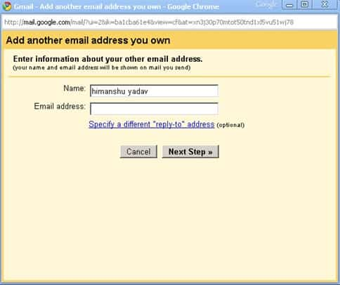 email3 thumb How to Add Another Email Account to Gmail