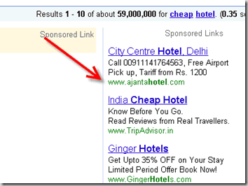 google adwords example thumb Dreamhost Free $75 Google Adwords Credit