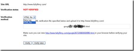 Google_webmaster_tool_verify ওয়েব সাইটের সাইটম্যাপ তৈরি এবং গুগলসহ অন্যান্য সাইটে সাবমিট নিয়ম