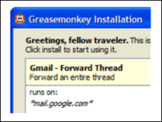 greasemonkey thumb 10 Firefox extensions for power blogging