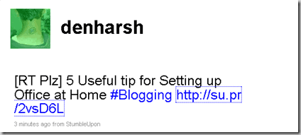supr twitter thumb Su.pr Bookmarklet For URL shortener and Traffic
