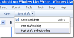 wlw local draft thumb 7 Reasons Why You should use Windows Live Writer for Blogging